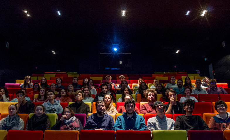 salle projection cinéma esma lyon