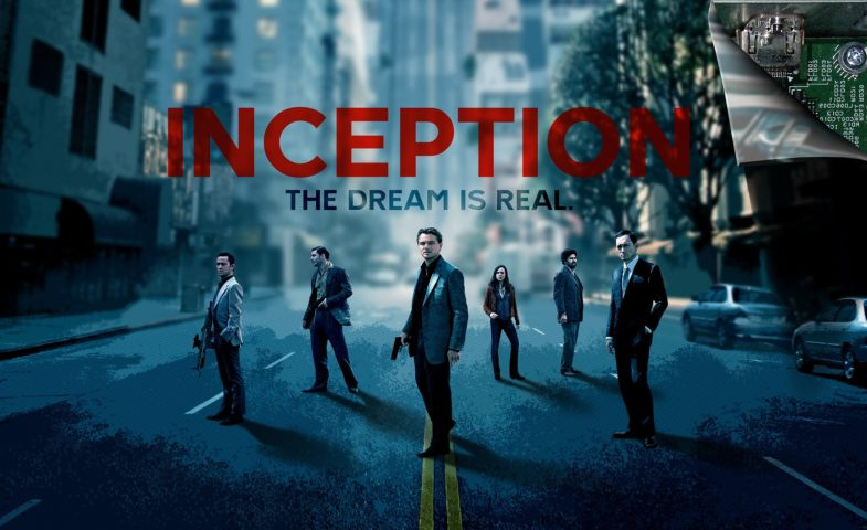 Affiche du film Inception réalisé par Christopher Nolan