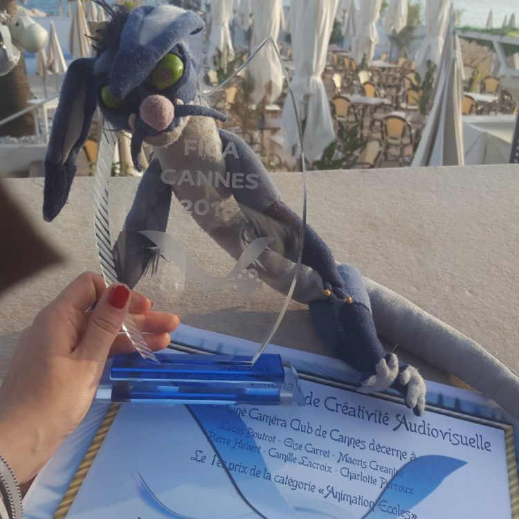 Achoo remporte un prix au FICA