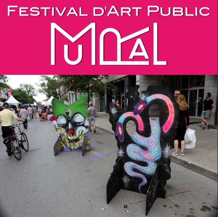Festival Mural Montréal : du 6 au 16 juin 2019