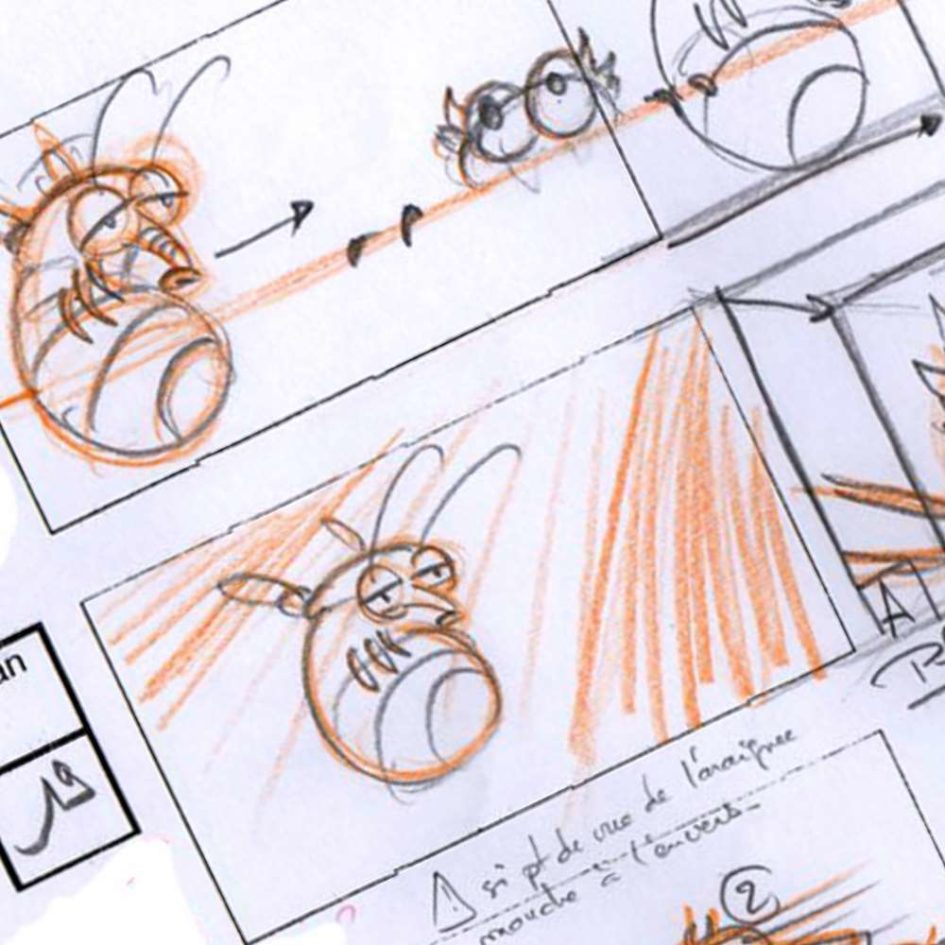 Création d'un story board