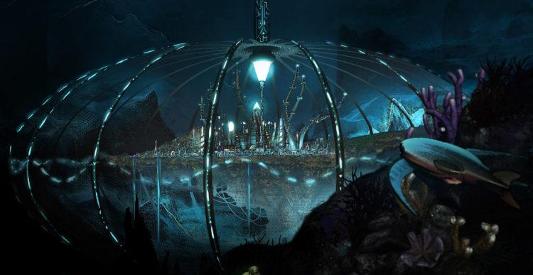 Villes et véhicules futuristes : exercice de concept art