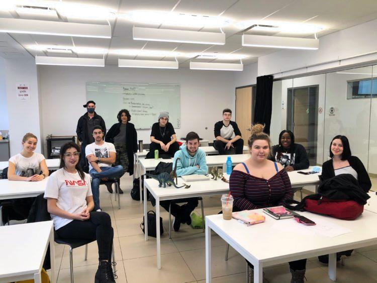 ESMA Montréal : Bienvenue aux nouveaux étudiants en animation 3D de 2020 !